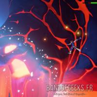 Kingdom Hearts III Sora attaque un titan