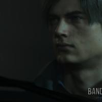 Resident Evil 2 Léon en gros plan