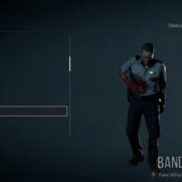 Resident Evil 2 modèle du lieutenant Marvin