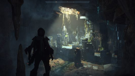 Anthem Exploration Caverne