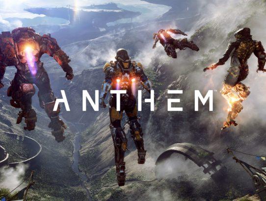 A vos Javelins : Anthem est arrivé