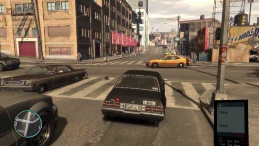 GTA IV Nico conduit une voiture
