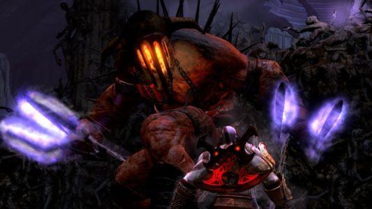 God of War III Kratos face à Hadès