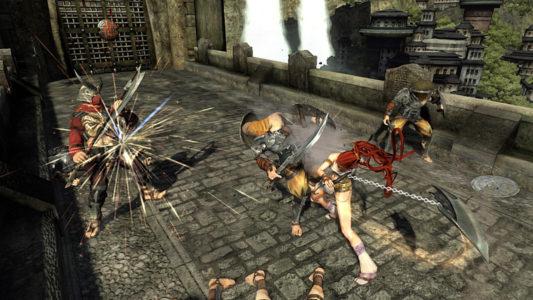 Heavenly Sword Nariko défonce des gardes