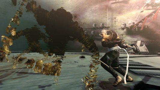NieR Gestalt Nier affronte des ennemis à l'épée