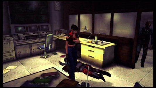 Code Veronica Dreamcast Claire blessée