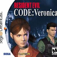 Code Veronica Dreamcast jaquette