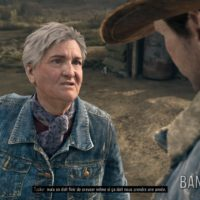 Days Gone Tuker discute avec Alkai