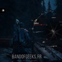 Days Gone roue des armes