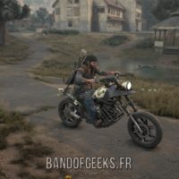 Days Gone Deacon à moto