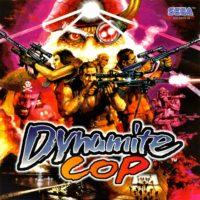 Dynamite Cop jaquette Dreamcast