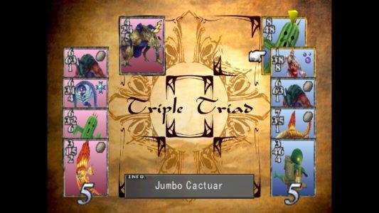 Final Fantasy VIII Triple Triad