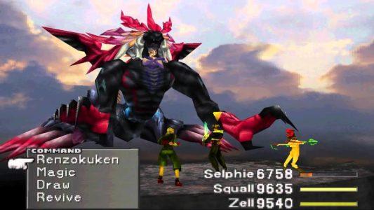 Final Fantasy VIII combat contre le Boss de fin
