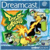 Jet Set Radio jaquette Dreamcast