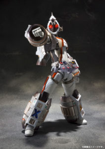 Kamen Rider Fourze SIC poing Band of Geeks
