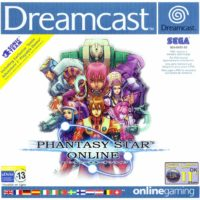 Phantasy Star Online jaquette Dreamcast