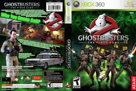 SOS Fantomes le jeu video Ghostbusters the video game cover Xbox 360 Band of Geeks