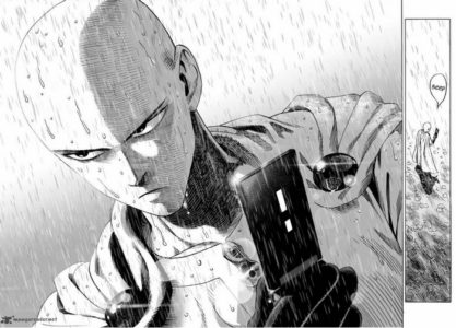One Punch Man Saitama est sérieux