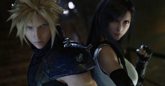 Final Fantasy VII Remake Cloud et Tifa