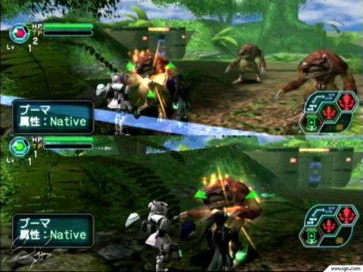 Phantasy Star Online jeu en coop local