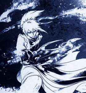 Shinrei fait sa danse de l'eau