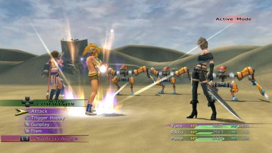 Final Fantasy X-2 combat