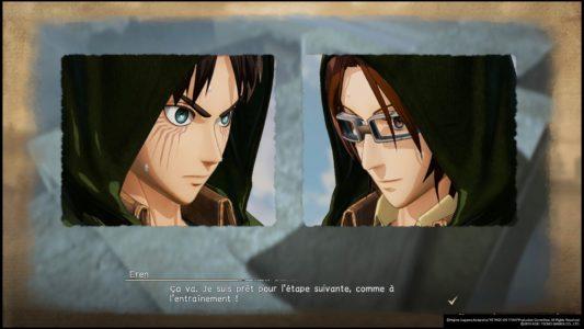vignette dialogue a.o.t. 2 final battle