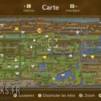 Link's Awakening carte du :monde