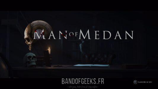 Man of Medan écran titre
