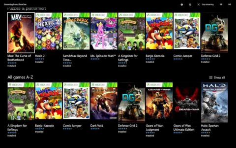 Xbox Game Pass liste jeux