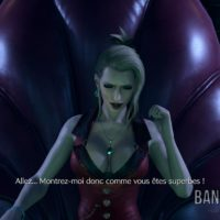 Final Fantasy VII Remake Scarlett prend la pose