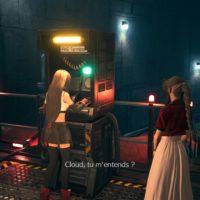 Final Fantasy VII Remake Tifa et Aerith devant le PHS