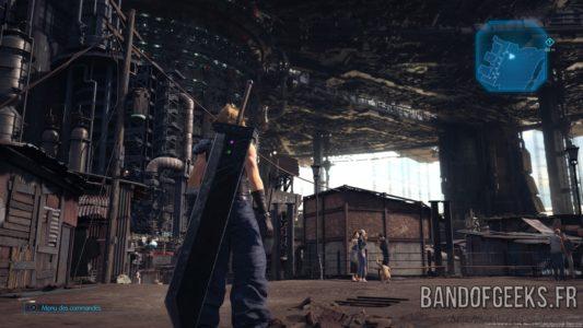 Final Fantasy VII Remake Cloud dans un taudis