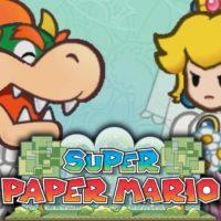 Super Paper Mario Bowser et Peach se marient