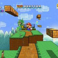Super Paper Mario Mario en mode 3D