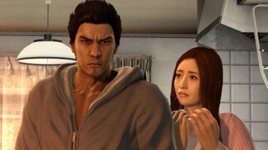 Yakuza 5 Kiryu et une amie