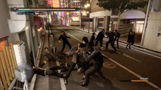 Yakuza 5 bagarre de rue
