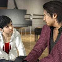 Yakuza 5 Akiyama et Haruka discutent