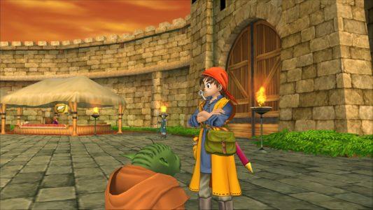 Dragon Quest VIII héros croise les bras