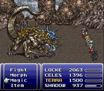 Final Fantasy VI combat