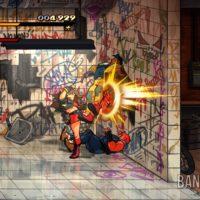 Streets of Rage 4 Blaze tape des loubards dans les toilettes