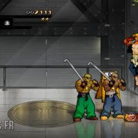 Streets of Rage 4 Axel se bat dans un ascenseur