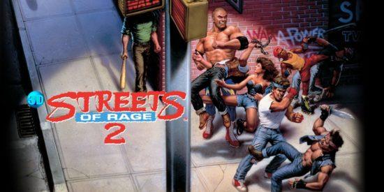 Jaquette de Streets of Rage II