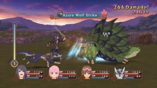 Tales of Vesperia combat contre tortue géante