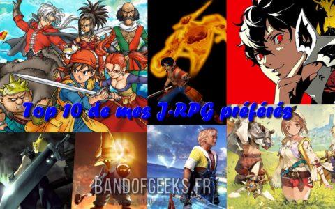 Top 10 J-RPG préférés Band of Geeks