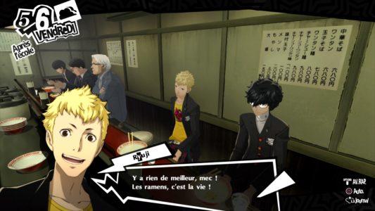 Persona 5 Royal Ryuji discute
