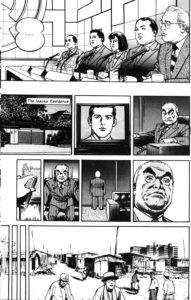 Sanctuary Isaoka regarde la télévision