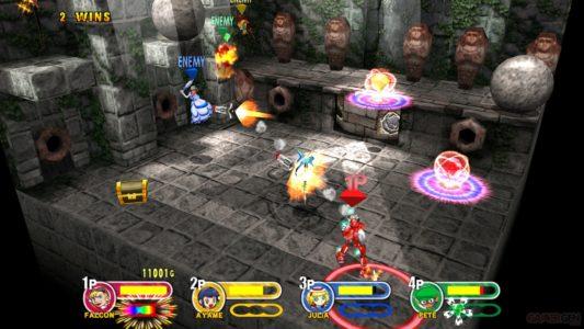 Power Stone combat à 4