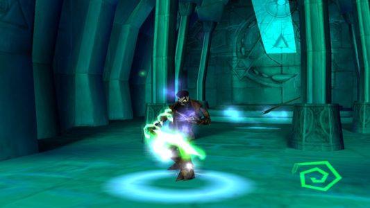 Soul Reaver Raziel absorbe, une âme
