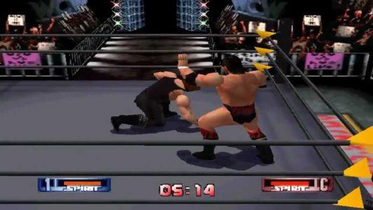 WCW vs NWO Revenge N64 combat sur le ring